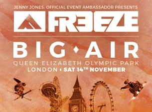 Freeze Big AirTickets
