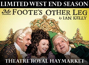 MR Foote's Other LegTickets