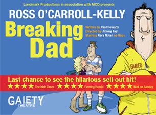 Ross O'Carroll-Kelly: Breaking Dad Tickets