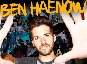Ben HaenowTickets