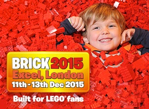 BRICK - Built for LEGO Fans Tickets