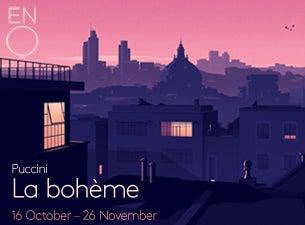 La Boheme - English National OperaTickets