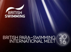 British Para-Swimming International Meet Tickets