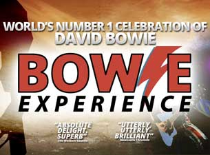 Bowie Experience (Touring) Tickets