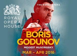Boris GodunovTickets