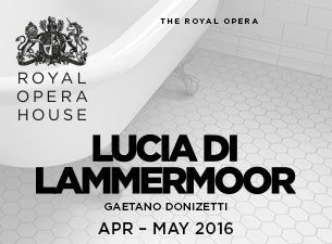 Lucia Di LammermoorTickets
