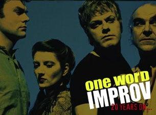 Eddie Izzard - One Word ImprovTickets