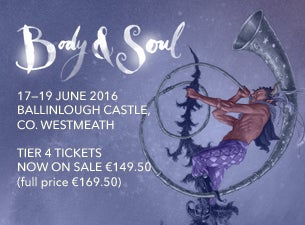 Body & Soul Tickets