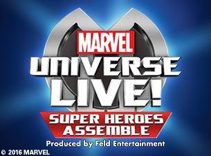 Marvel Universe LIVE!Tickets