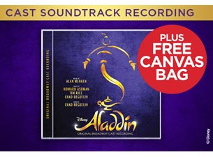 Aladdin Cast CD Recording Tickets