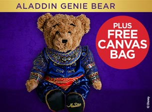 Genie Bear Plush Toy Tickets