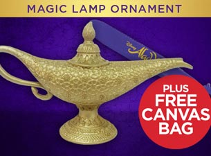 Magic Lamp Ornament Tickets