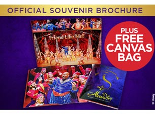 Official Aladdin Souvenir Brochure Tickets