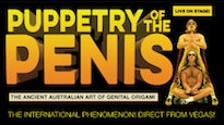 Puppetry of the Penis Tickets