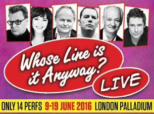 Whose Line Is It Anyway...Live Tickets
