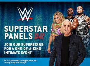 WWE Superstar Panel Event Tickets