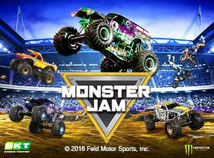 Monster Jam Monster Truck Racing Tickets