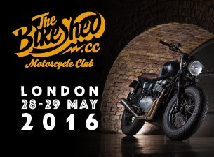 The Bike Shed Motorcycle Show London Tickets