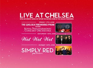 Live At Chelsea Tickets