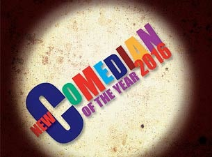 New Comedian of the Year Tickets