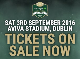 Aer Lingus College Football Classic Tickets