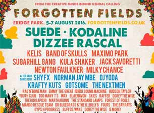 Forgotten Fields Tickets
