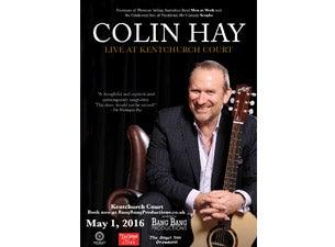 Colin HayTickets