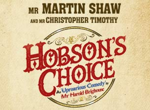Hobson's Choice Tickets
