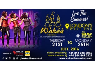 Wakaa! the Musical Tickets