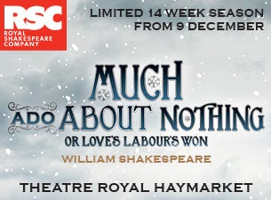RSC - Much Ado About NothingTickets