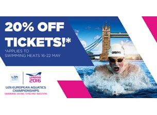LEN European Aquatics ChampionshipsTickets