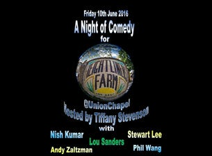A Night of Comedy for Freightliners Farm Tickets
