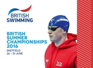 British Swimming Championships Tickets