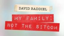 David BaddielTickets