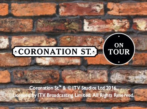 Coronation Street On Tour Tickets
