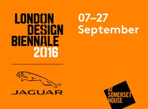 London Design Biennale Tickets