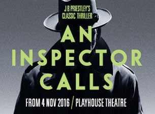 An Inspector CallsTickets