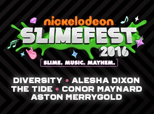 Nickelodeon Slimefest Tickets