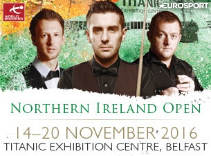 Home Nations Series - Northern Ireland Open Tickets