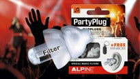 Alpine Hearing Protection - Earplugs Tickets
