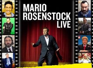 Mario RosenstockTickets