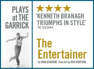 The Kenneth Branagh Theatre Company - the Entertainer Tickets