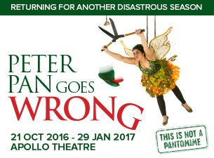 Peter Pan Goes WrongTickets