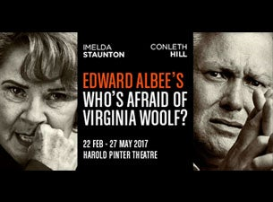 Who's Afraid of Virginia Woolf? Tickets