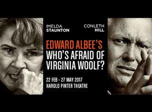 Who's Afraid of Virginia Woolf?Tickets