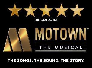 Motown the MusicalTickets