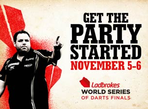 World Series of Darts Tickets