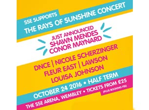 Rays of Sunshine Concert Tickets
