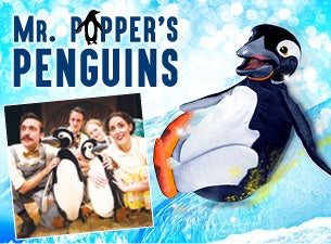 MR Popper's Penguins Tickets