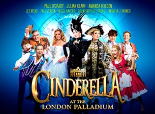 Cinderella At the London Palladium Tickets